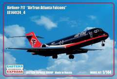 Самолет B-717 AirTran Atlanta Falcons 1/144