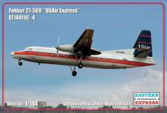 Пассажирский самолет Fokker F-27-500 USAir Express 1/144