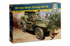 Модель M6 Gun Motor Carriage WC-55 1/35