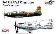 Dora Wings 7201D P-63 C/E Kingcobra 1/72 (2 модели)