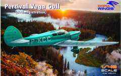 Dora Wings 48015 Percival Vega Gull 1/48
