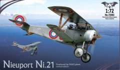 Nieuport Ni.21 Bat project модель 1/72