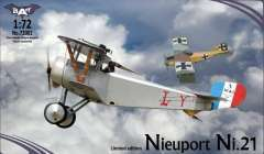 Bat project Nieuport Ni.21 модель 1/72