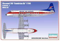 Eastern Express Viscount 700 Cambrian Air модель 1/144