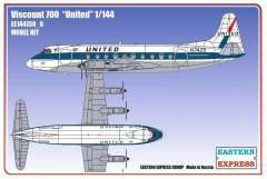 Eastern Express Viscount 700 United модель 1/144