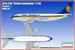 Eastern Express Airbus A310-200 British Caledonian модель 1/144