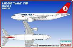 Eastern Express Airbus A310-200 Turkish модель 1/144