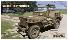MENG Willys MB модель 1/35