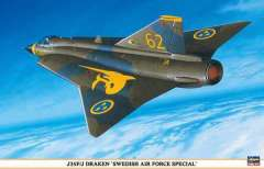 Сборная модель J35F/J Draken Sweden Airforce 1/48