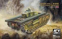 AFV-Club 1/35 инженерный танк Churchill Avre with Snake Launcher