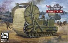 AFV-Club 1/35 инженерный танк Churchill Mk.III Carpet Layer Type D