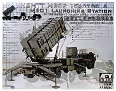 AFV-Club 1/35 HEMTT M983 Tractor & M901 Launcher Station