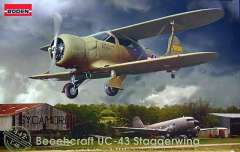 Модель 1/48 Beechcraft UC-43 Staggerwing