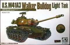 Американский легкий танк M41A3 «Walker Bulldog» 1/35