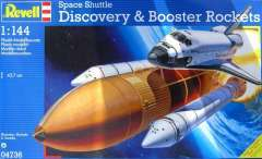 1/144 Space Shuttle Discovery and Booster Rockets (сборная модель)