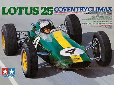 1/20 Lotus 25 Coventry Climax. Картинка №1