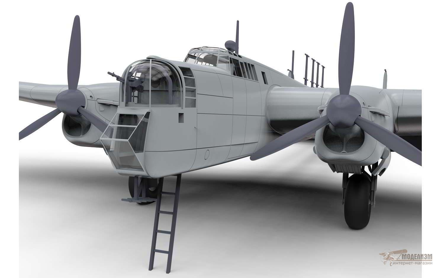 Бомбардировщик Armstrong Whitworth Whitley Mk.VII 1/72 Airfix-2