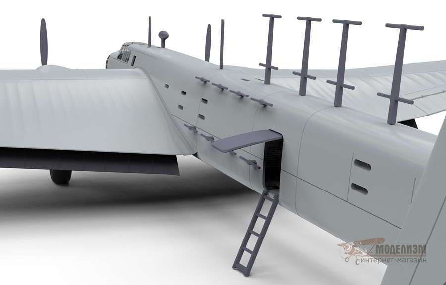 Бомбардировщик Armstrong Whitworth Whitley Mk.VII 1/72 Airfix-3