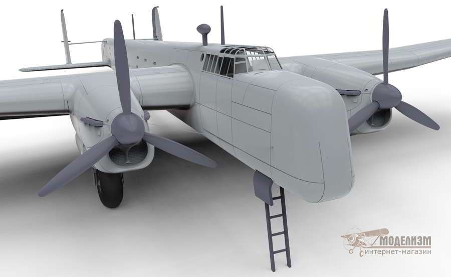 Бомбардировщик Armstrong Whitworth Whitley Mk.VII 1/72 Airfix-5