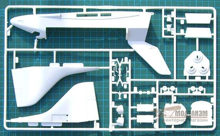 1/144 Space Shuttle Discovery and Booster Rockets (сборная модель). Картинка №4
